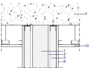 Ac stica arquitect nica y medioambiental detalles encuentros paramentos verticales interiores - Detalle constructivo techo ...