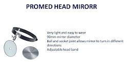 PROMED HEAD MIRORR