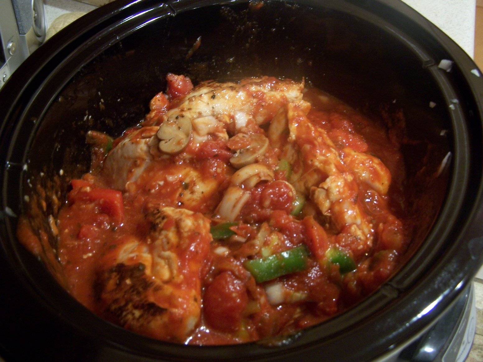 The Best is Yet to Come: Crock Pot Chicken Cacciatore