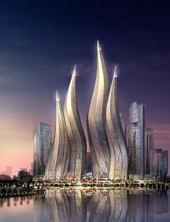 Dubai em chamas