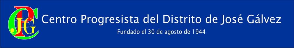Centro Progresista Distrital José Gálvez