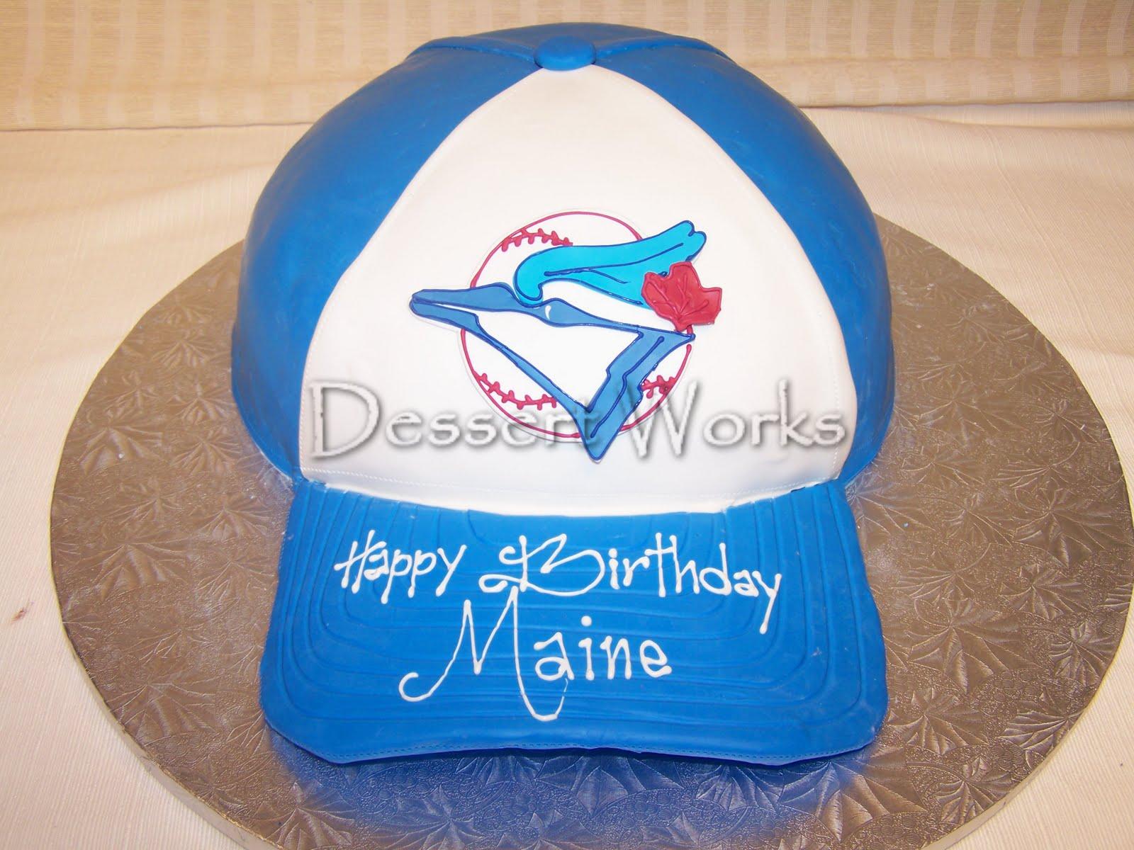 Dessert Works Bakery Toronto Blue Jays Baseball Cap
