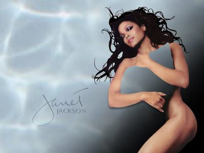 Janet Jackson hot desktop