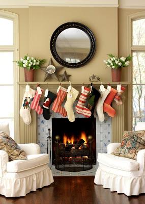 Con encanto inspiraci n navide a chimeneas decoradas - Chimeneas decoradas ...
