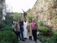 Pedrito, Ahid, Musa, Helen, Walid
