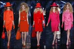 All in Red, Fashion Collection by Dior for Autumn 2009