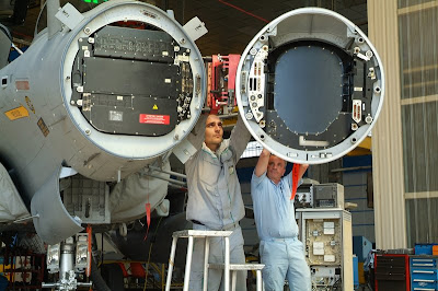 Thales e DGA completam testes do radar AESA RBE2