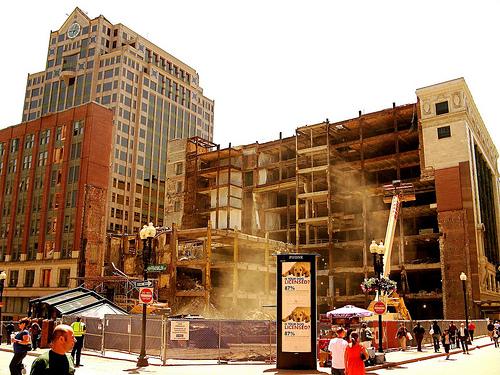 the demolition of filene 39 s basement