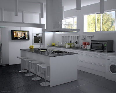 Big Kitchen Interior