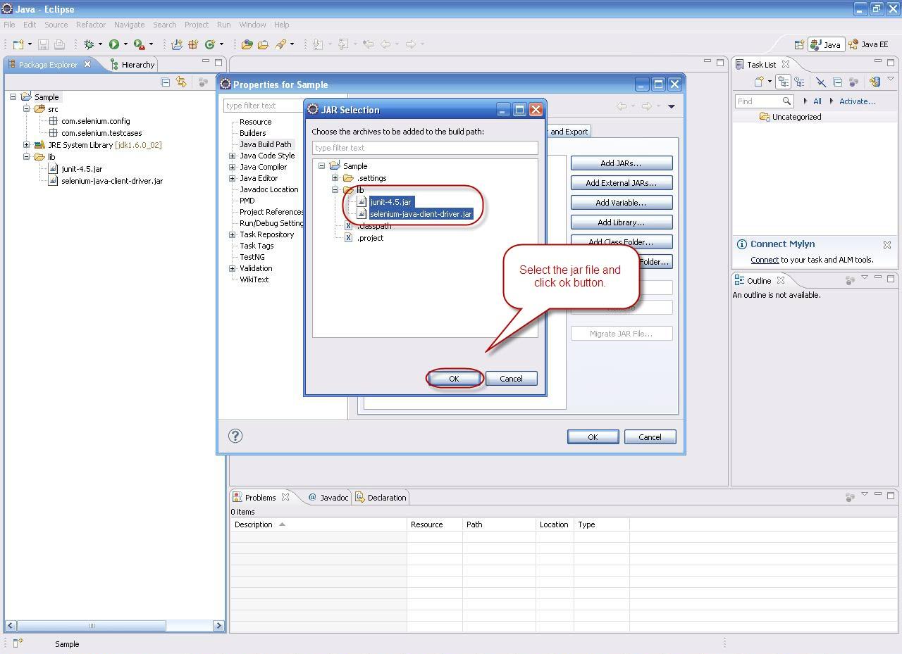 selenium-java-client-driver.jar file download