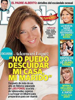 actriz Adamari López confiesa cómo fue vivir en México separada de