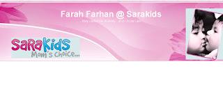 JELAJAH BLOG~FARAH FARHAN@SARAKIDS