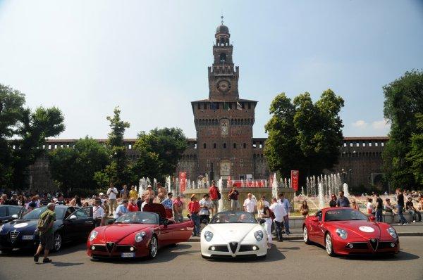 100 anni /anos Alfa Romeo - Milão - 24 a 27 Junho 2010