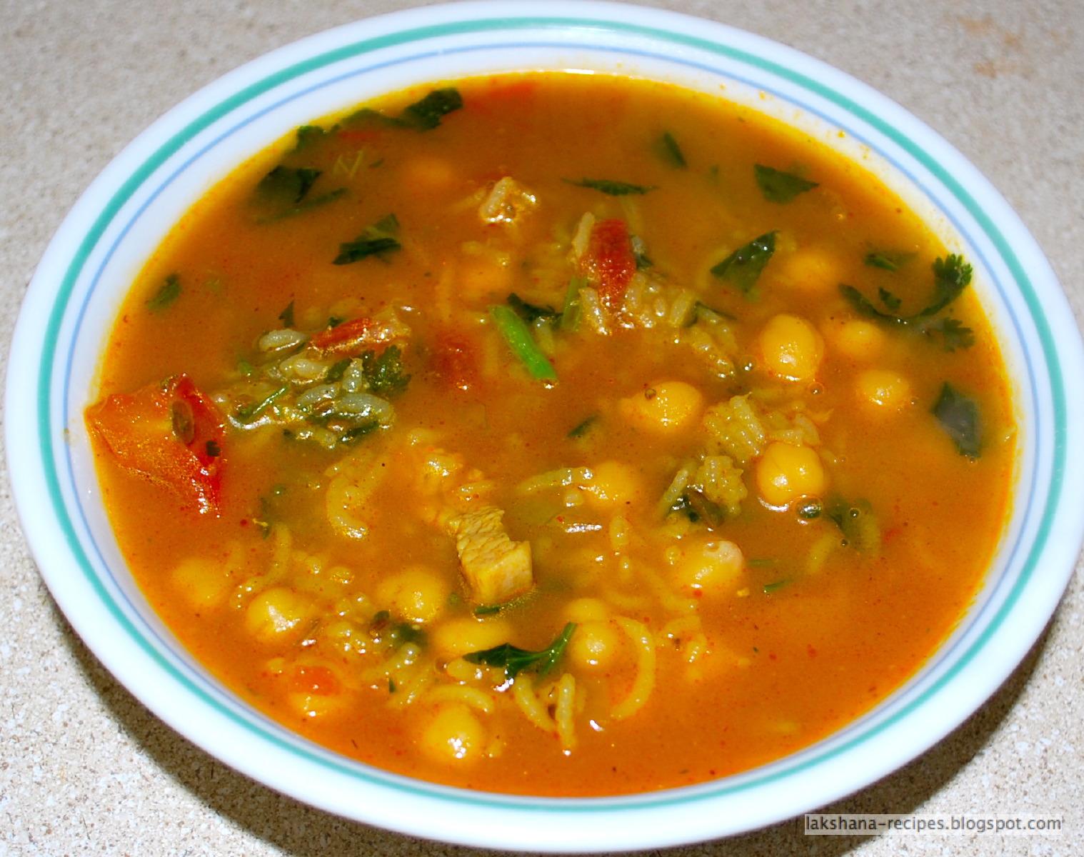 Lakshana recipes chicken soup similar to moroccan soup chicken soup similar to moroccan soup forumfinder Gallery