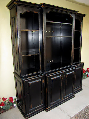 Restoration Furniture Black French Country Entertainment