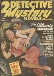 Two Detective Mystery Novels 1950