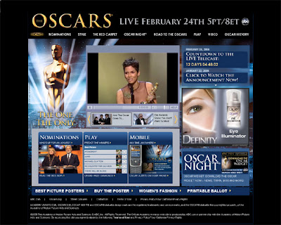 oscars 2008 los angeles usa