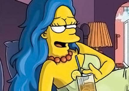Pre Marge Simpson Playboy Nude Desnuda