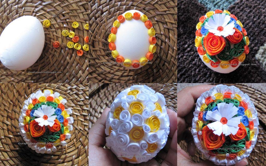 Фото пасхальных яиц поделки