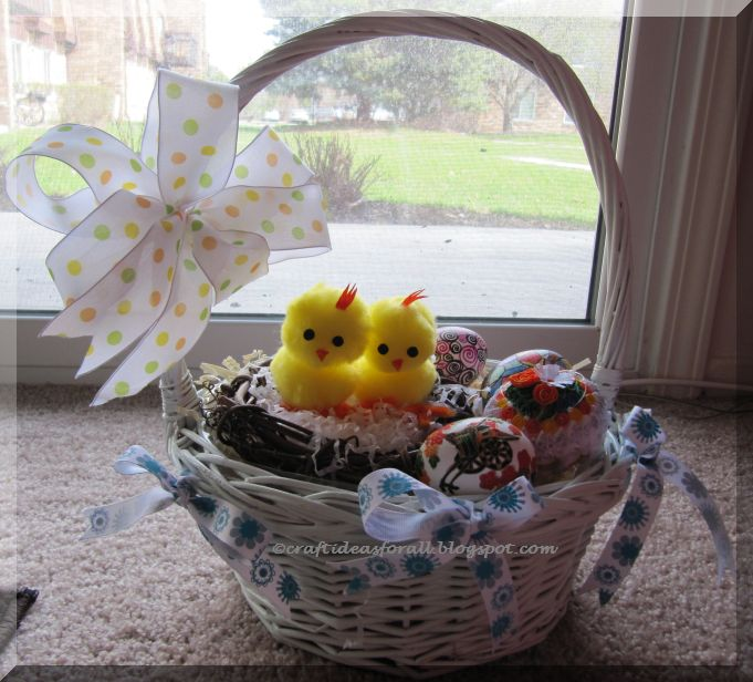Craft ideas for all easter basket - Easter basket craft ideas ...