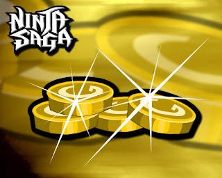 NEW, CHEAT GOLD NINJA SAGA