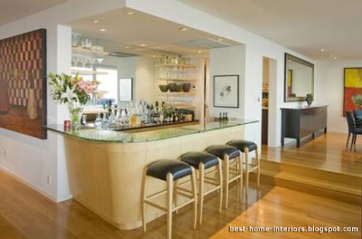Beautiful Mini Bar Interior at Home