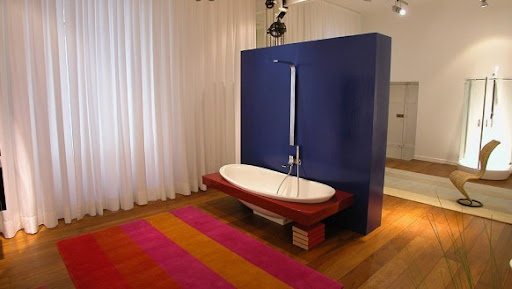 Bathroom With Colour Combinations