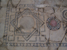 "Floor mosaic ""knot"""