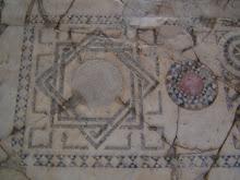 "Floor mosaic ""knot"""