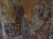 Fresco of a valiant Knight