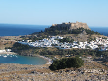 The city of Lindos and castle