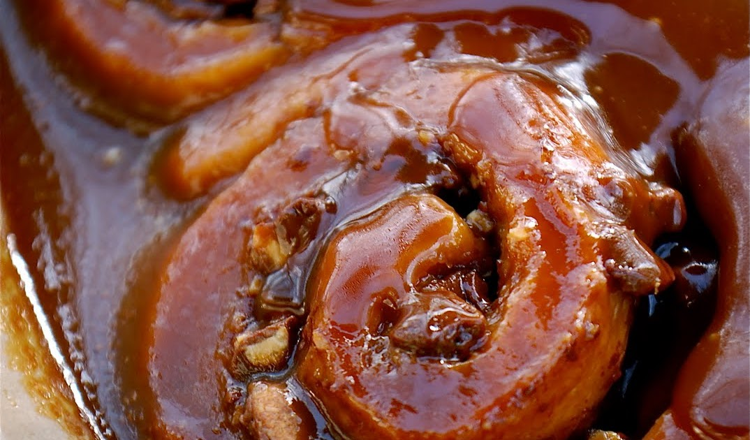 ... : Green & Black's Peanut Sticky Buns with Salted Butter Caramel S...