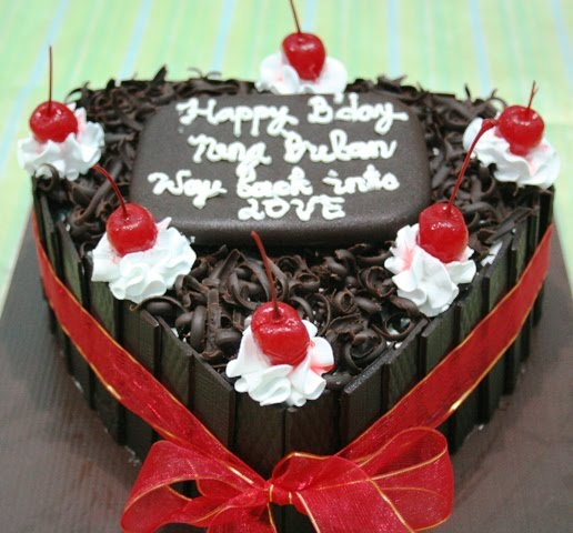 Cake Black Forest Birthday : Joris  Kitchen: Black Forest Birthday Cake for the love ones