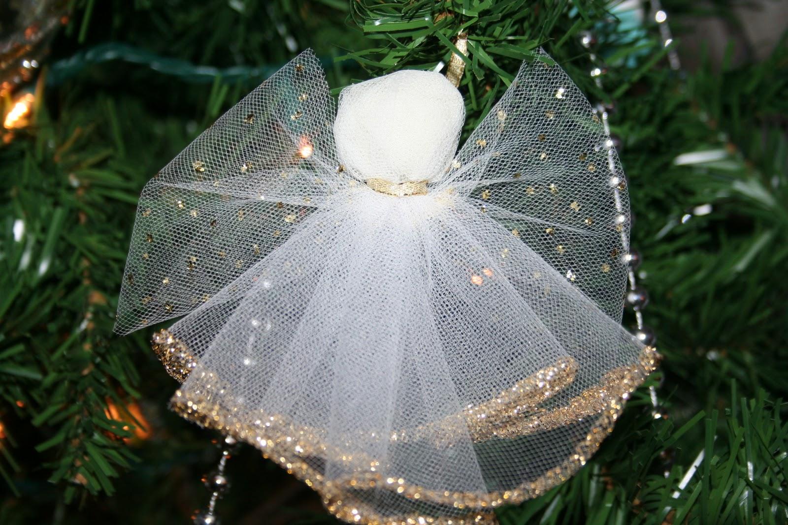 Artesanato Rio De Janeiro Centro ~ Crafty Family Blog Day 2~ Another Holiday Craft Idea Tulle Angels