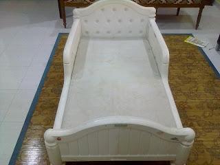 MyBundleToys GRACO White Toddler Bed