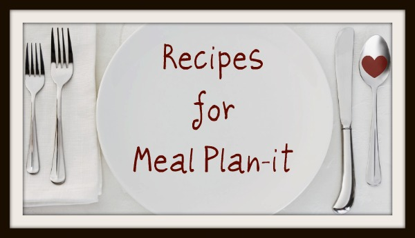 Meal Plan-it Recipes