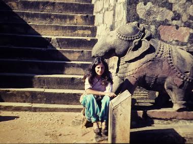 Primera vez en India, 1982.