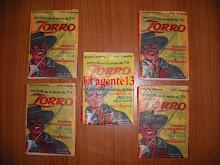 """SOBRES DE FIGURITAS """"EL ZORRO""""."""