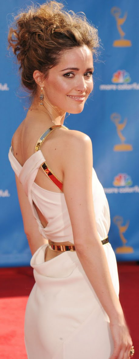 rose byrne red carpet. Emmy TV Awards 2010
