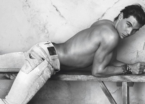 Armani Underwear Spring 2011 Campaign With Megan Fox And Rafael Nadal