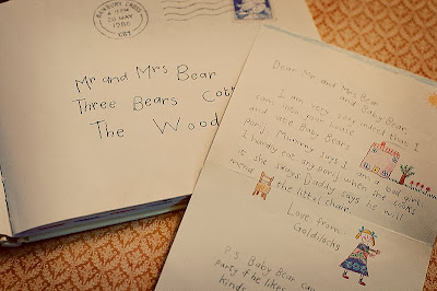 Vanishing point the jolly postman and a letter to the big bad wolf from an attorney gold spiritdancerdesigns Images