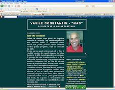 "VASILE ""MAO"" CONSTANTIN"