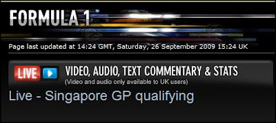 f1 video on BBC Iplayer France