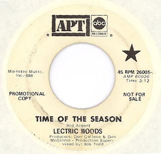 Cover Album of Lectric Woods - Time Of The Season