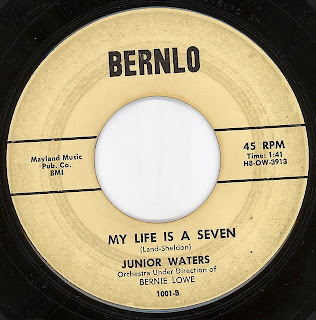 Cover Album of Junior Waters - My Life Is A Seven