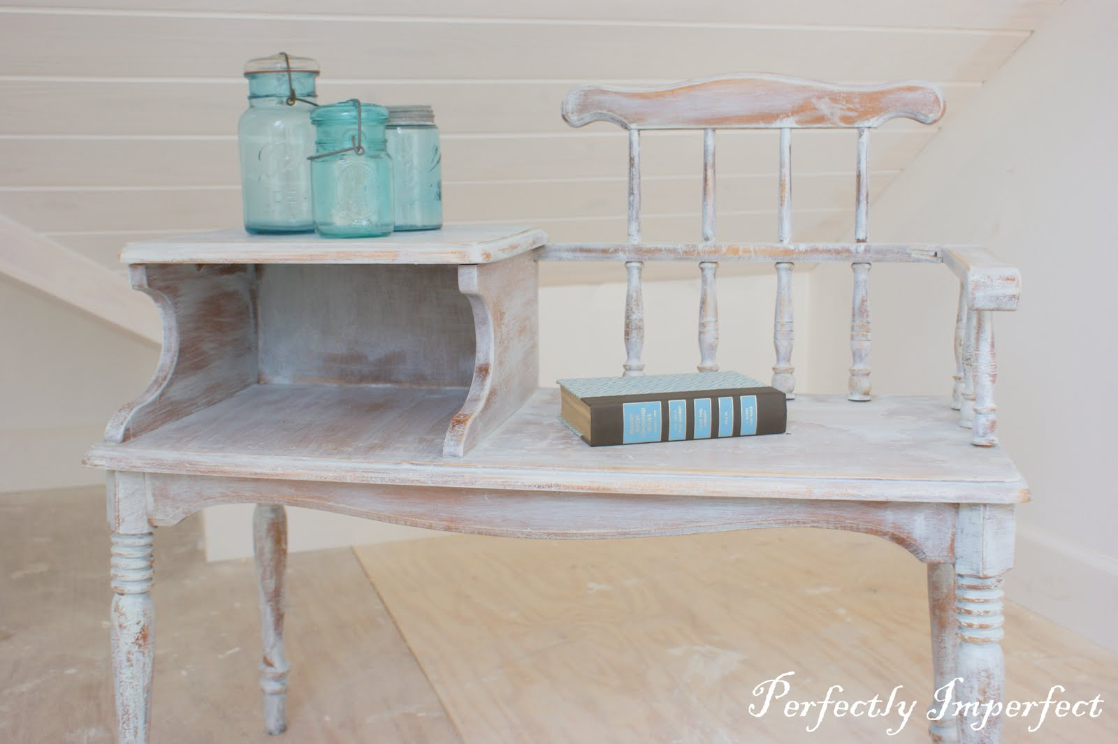 Gossip Bench Update Or Aging Perfectly Imperfect Blog