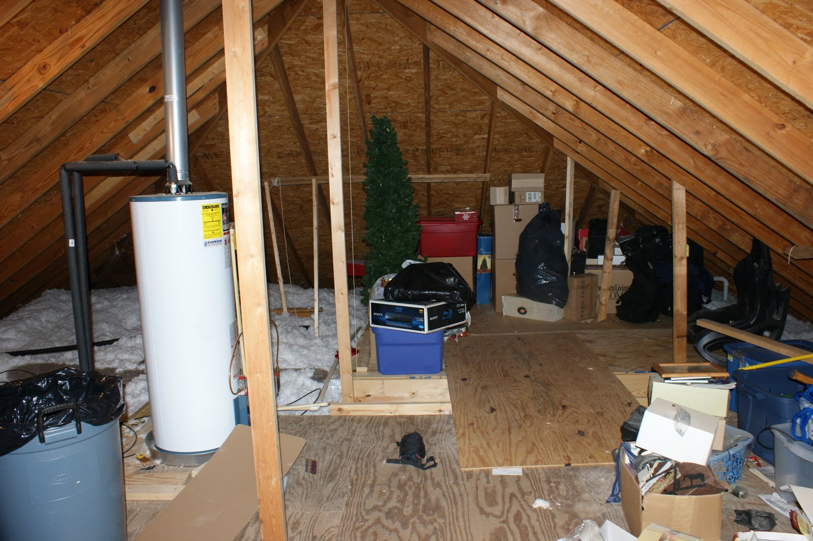 Before and After Attic Rooms Ideas