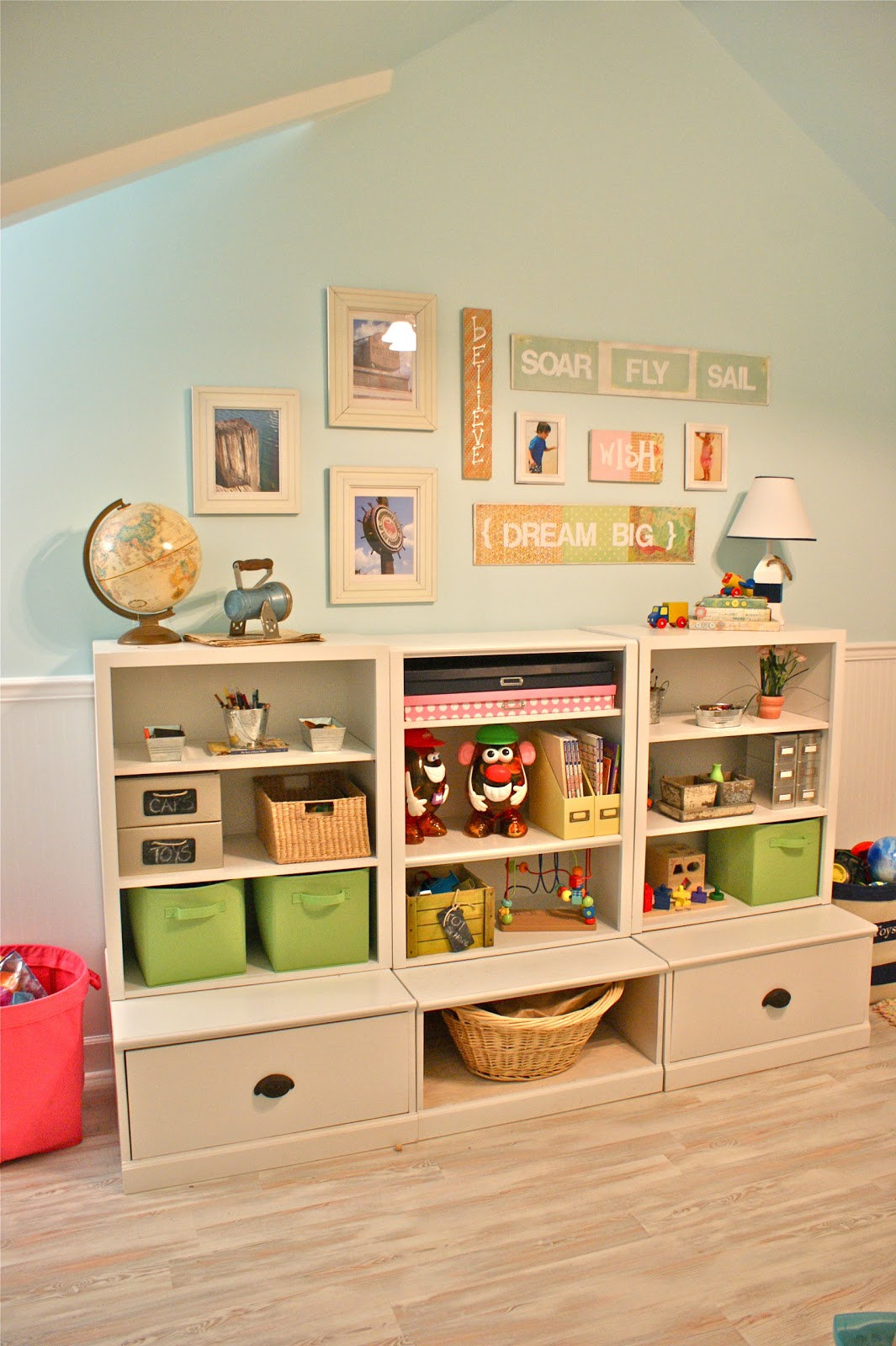 Pottery Barn Art for the Playroom | Perfectly Imperfect™ Blog