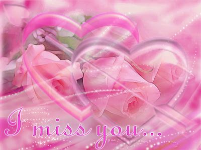 Romantic Card: I miss you