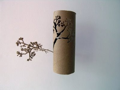 Beautiful Paper Tree Artwork